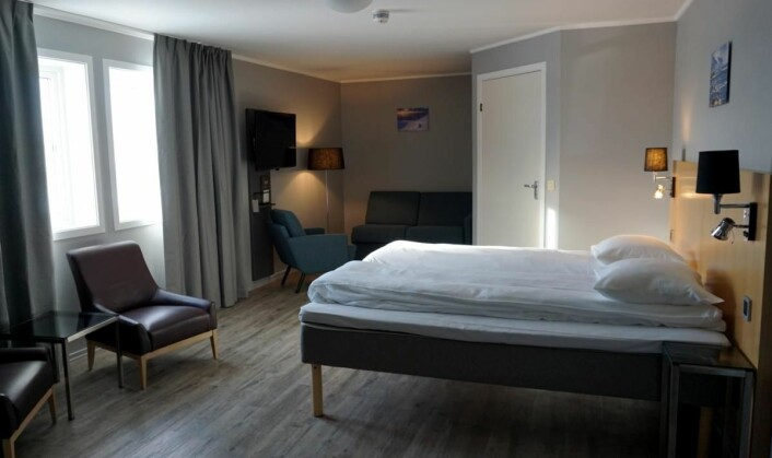 Scandic Vestfjord Lofoten har 63 nyoppussede rom. (Foto: Scandic Hotels)