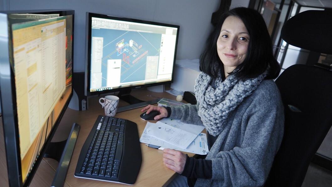 Anna Skibniewska er nyansatt prosjektdesigner hos MP Storkjøkken. (Foto: MP Storkjøkken)