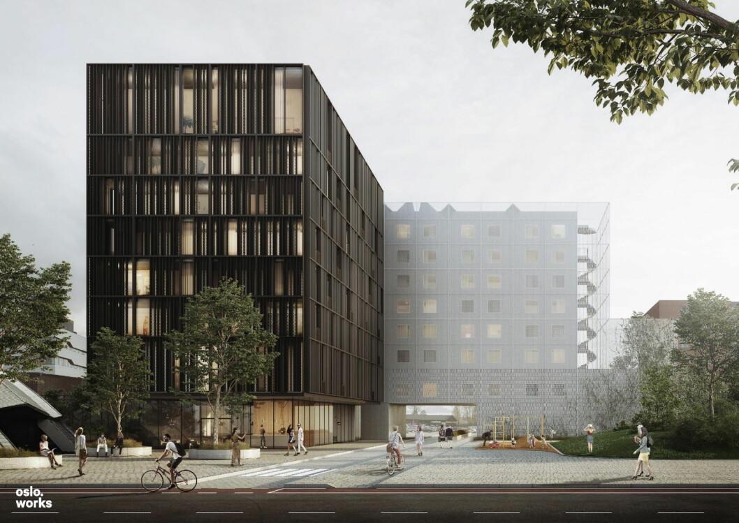 Scandic Hamar skal bygges ut. (Illustrasjon: Scandic Hotels)