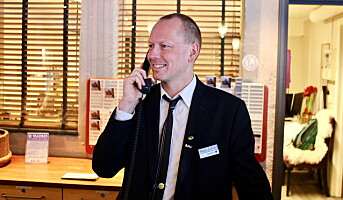 «Verdens raskeste hotellresepsjonist»
