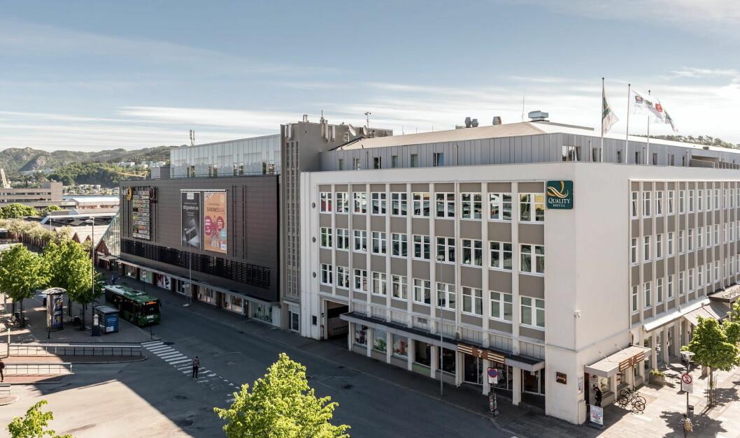 Quality Hotel Residence i Sandnes. (Foto: Quality Hotel)