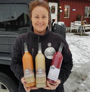 Anne-Lene Bjerketvedt fra Dyre Gård.