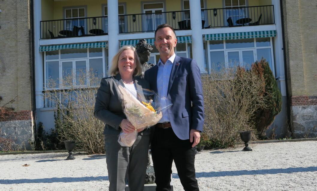 Refsnes Gods ble en del av Classic Norway Hotels far 1. april. (Foto: Classic Norway Hotels)