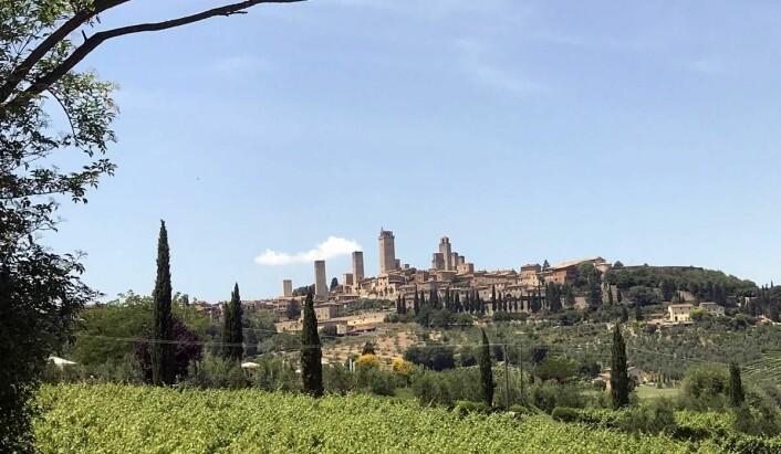 San Gimignano. (Foto: Morten Holt)