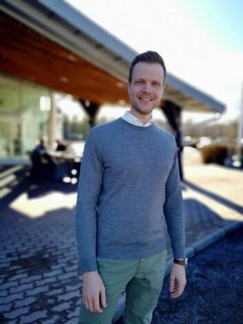 Bærekraftsdirektør for Nordic Choice Hotels, Harald Bjugstad-Holm. (Foto: Nordic Choice Hotels)