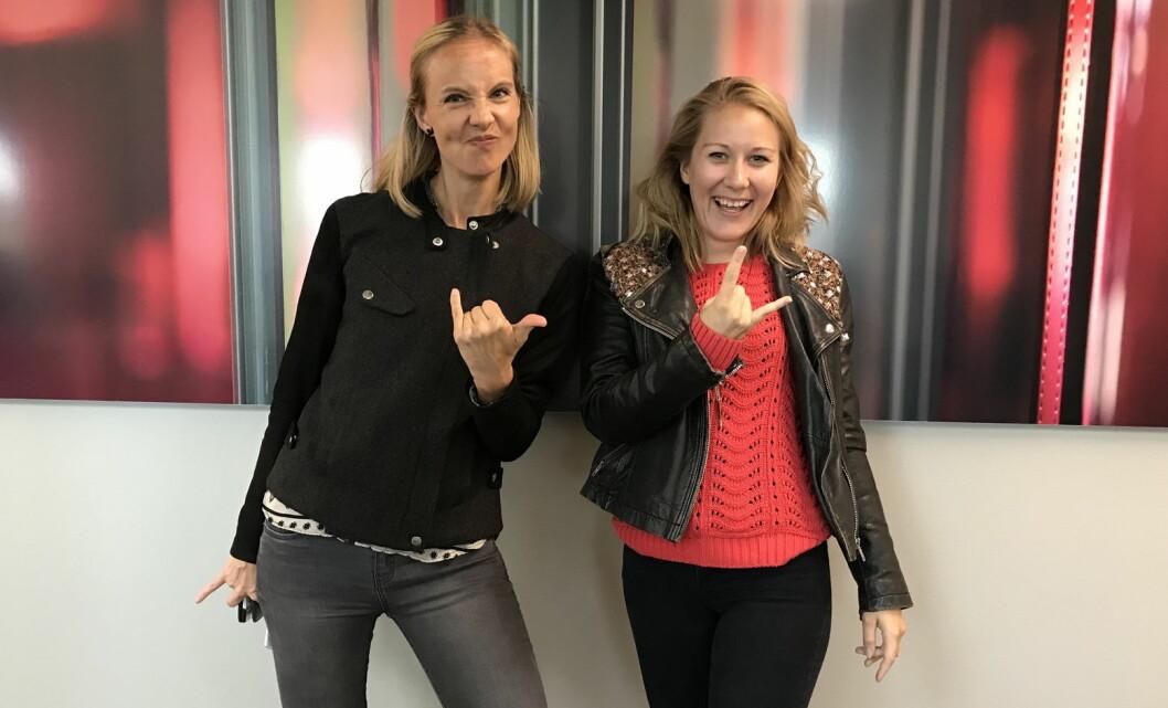 Gründer og daglig leder Torunn Tronsvang (til venstre) og markedssjef Henriette Bendiksen i Up Norway. (Foto: Up Norway)