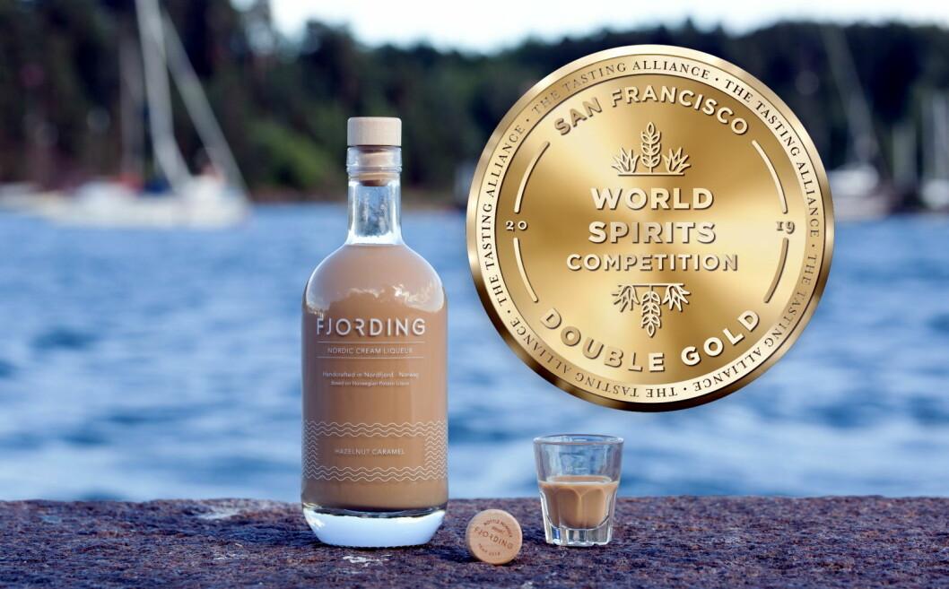Fjording har vunnet dobbelt gull i San Francisco World Spirits Competition. (Foto: Fjording)