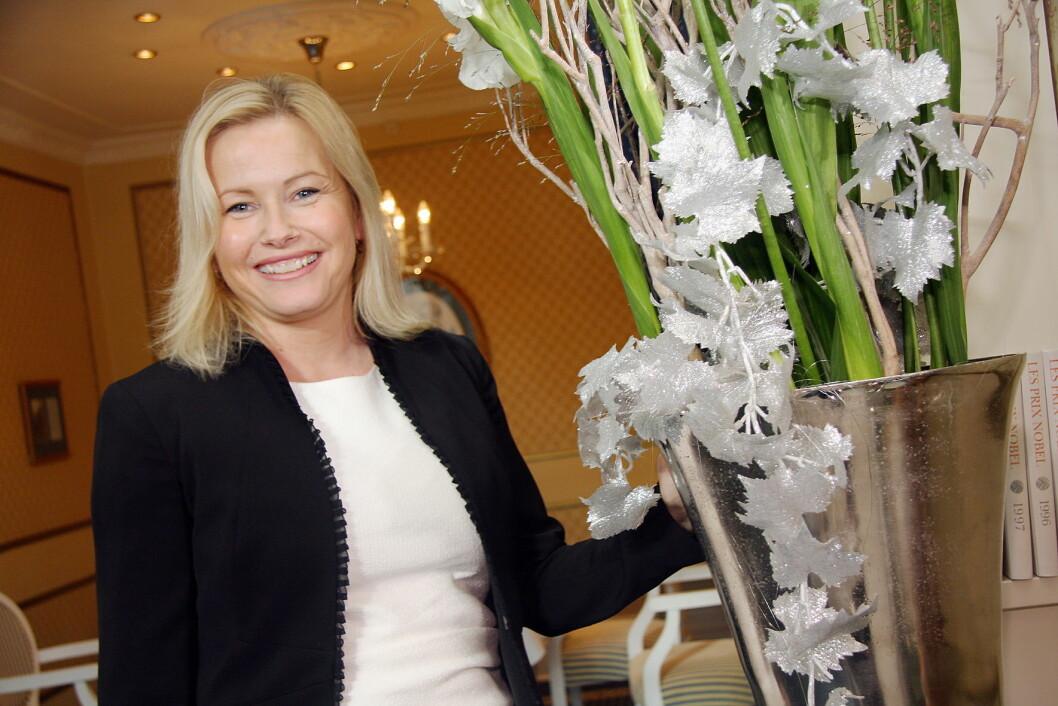 I desember slutten Fredrikke Næss som direktør på Grand Hotel Oslo. 1. mai starter hun i samme stilling på Lysebu. (Foto: Morten Holt, arkiv)