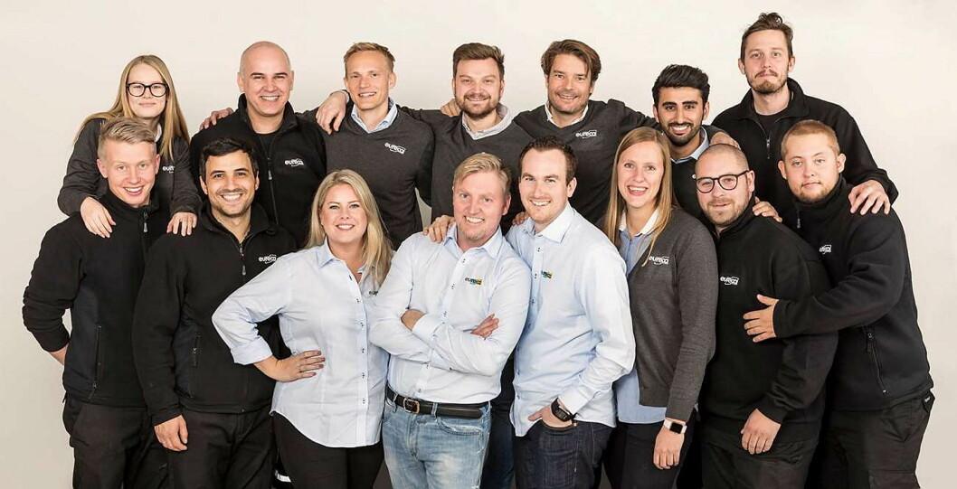 Med Eureca-fondet ønsker Eureca engros-teamet å forbedre rekrutteringen av dyktige kokker til kokkeyrket. (Foto: Eureca engros)