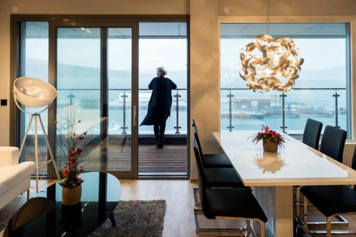 Fra rommene på Scandic Syv Søstre har du fenomenal utsikt mot den vakre helgelandsnaturen. (Foto: Scandic Hotels)