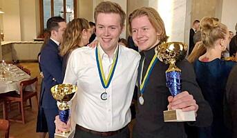 Gull til Statholdergaarden i Nordisk mesterskap