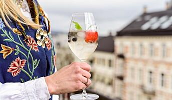 En forfriskende måte å nyte champagne