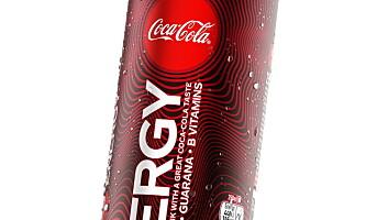 Coca-Cola med energidrikk