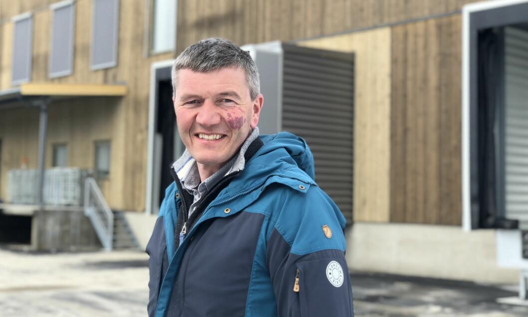 Rørosmeieriet, her meieribestyrer Trond V. Lund, er en av de norske kandidatene til matprisen Embla. (Foto: Rørosmeieriet)