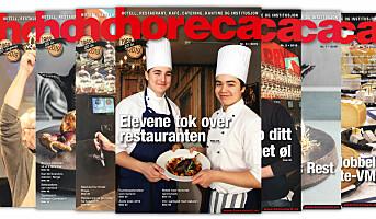 Årets tredje Horeca-magasin på vei
