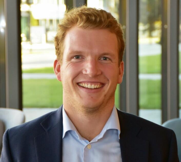 Prosjektleder Jørgen Vigeland hos Aga.