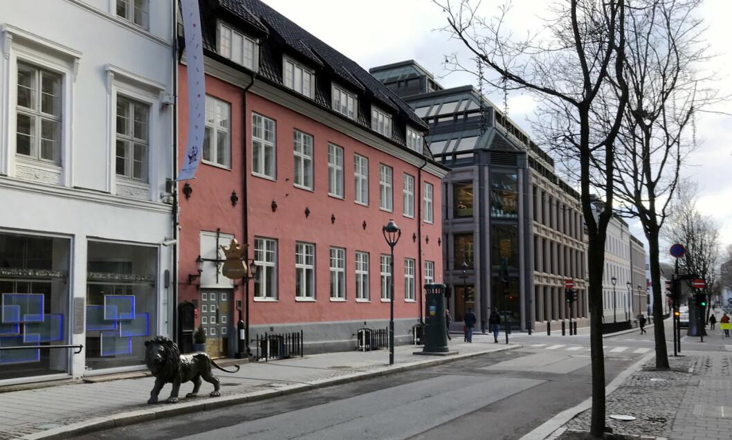Statholdergaarden. (Foto: Morten Holt)