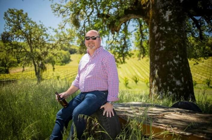 Vinmaker Jeff Cichocki hosBonterra Organic Vineyards. (Foto; Bonterra)