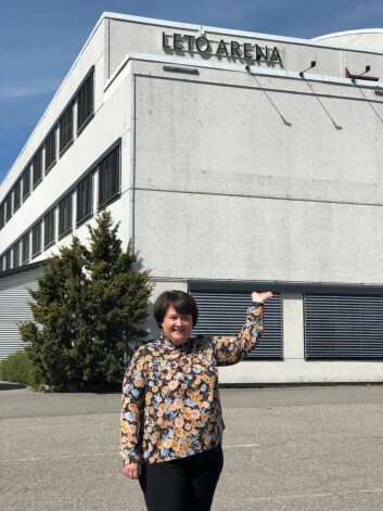 Hotelldirektør på Best Western Leto Arena, Hege Jeanette Bentzon. (Foto: Best Western Leto Arena)