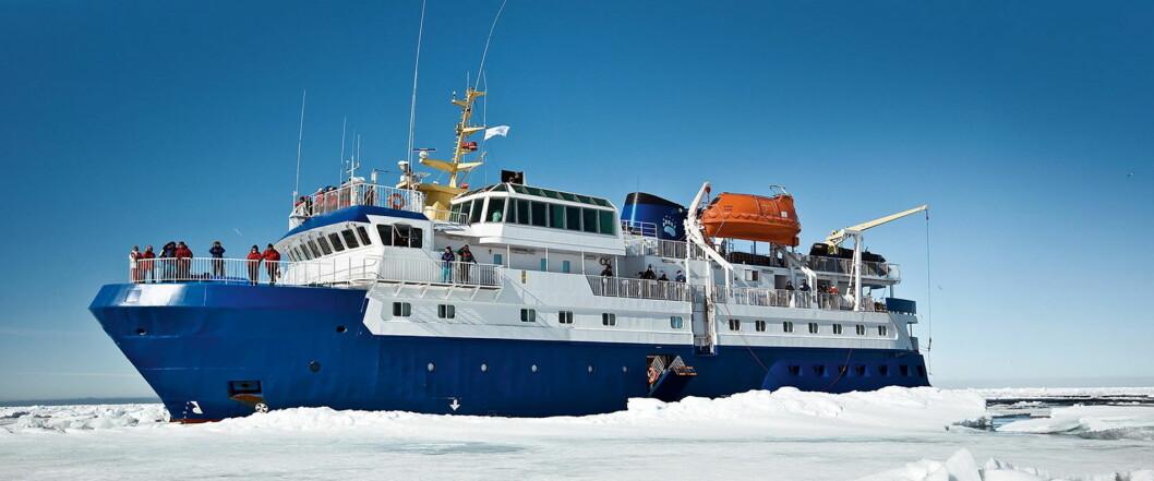 MS Quest er klar for å seile langs kysten av Nord-Norge. (Foto: Norwegian Adventure Company)