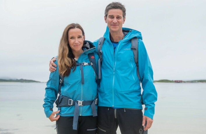 Nina Kristine Madsen-Geelmuyden og Fredrik Geelmuyden står bak Norwegian Adventure Company (Foto: Norwegian Adventure Company)