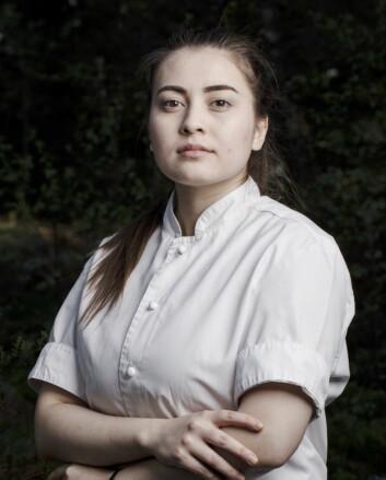 Liliana Haaland er en av finalistene i«Årets unge kokk» 2019. (Foto: Stiftelsen Årets Kokk)