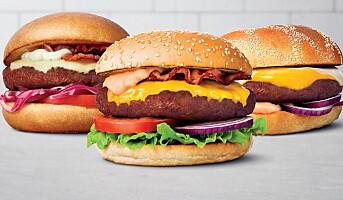 Max lanserer plantebasert burger