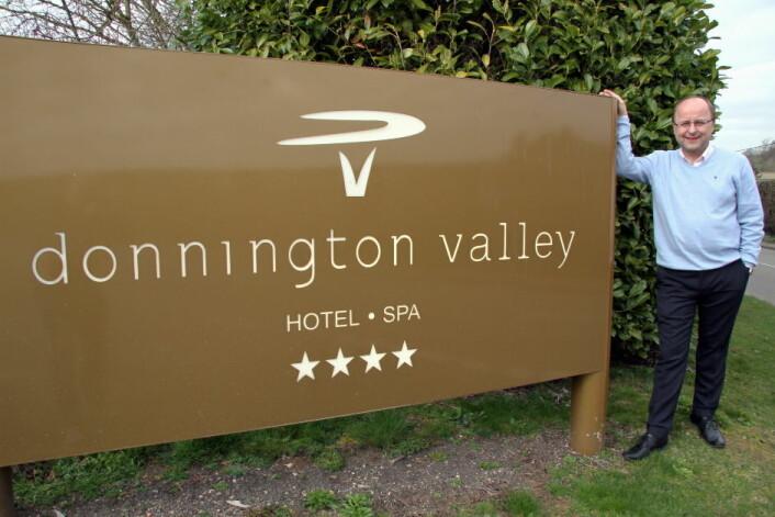 Bent Cato Danielsen har ledet The Vineyard Group i fem år. Nå venter nye utfordringer på et av Storbritannias aller beste hoteller. (Foto: Morten Holt)