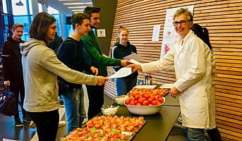 Valgte norske tomater fremfor importerte