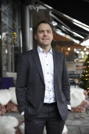 Administrerende direktør Harald Berger gleder seg over bedre plass, beliggenhet og tilbud på Bølgen & Moi Gimle. (Foto: Dag Thorenfeldt)
