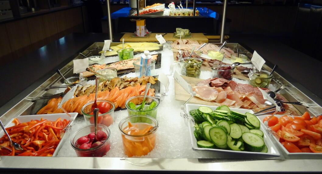 Frokosten på Scandic Elgstua i Elverum er Hedmarks beste. (Foto: Morten Holt)