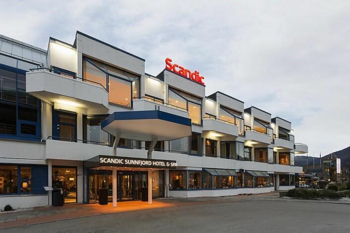 Scandic Sunnfjord er fylkesvinner i Sogn og Fjordane. (Foto: Scandic Hotels)