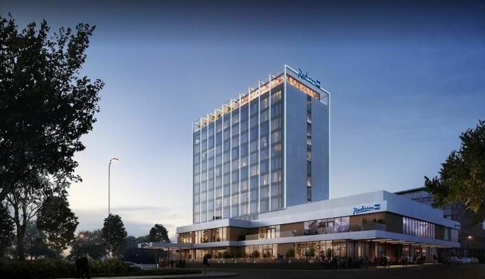 Radisson Blu Caledonien Hotel er fylkesvinner i Vest-Agder. (Foto: Radisson Hotel Group)