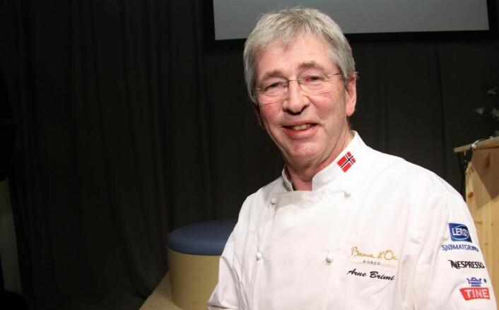 Arne Brimi er en av Salgslagets samarbeidspartnere. (Foto: Morten Holt)