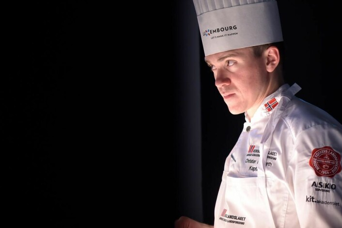 Christer Rødseth er kaptein på kokkelandslaget senior. (Foto: Eirik Nilssen, Impulsfoto)