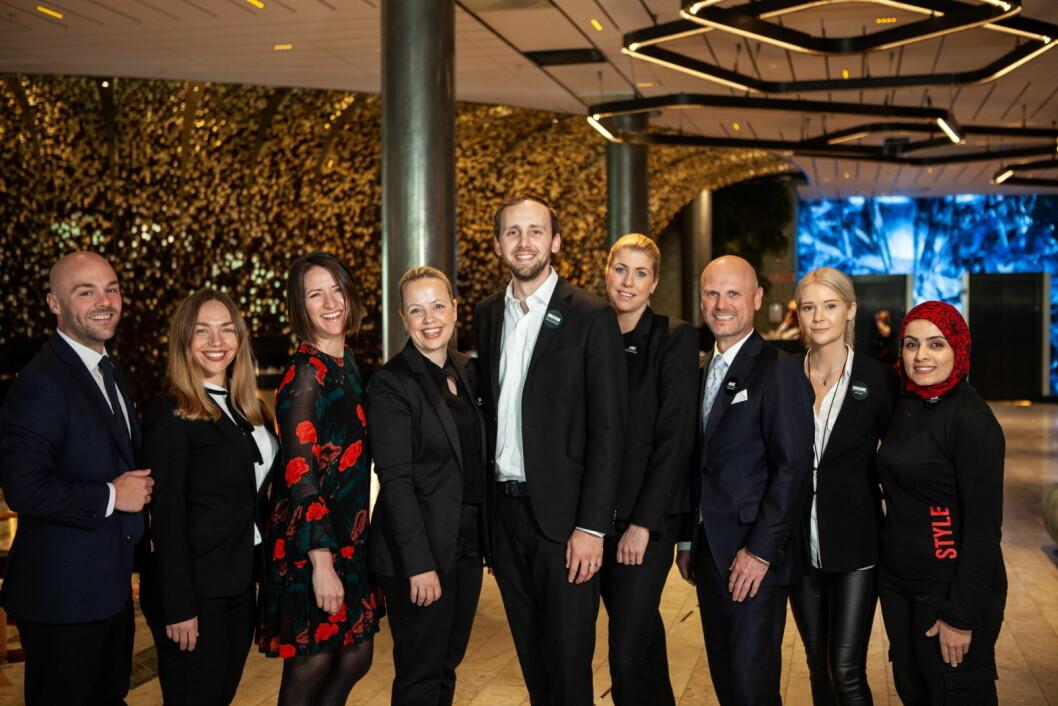 De ansatte på Clarion Hotel The Hub skal profileres i den nye TV-serien «Hotelleventyret». (Foto: Nordic Choice Hotels)
