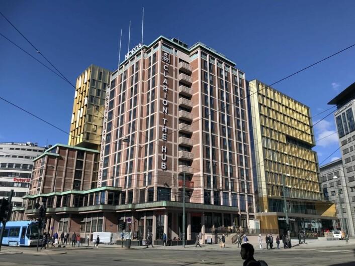 Clarion Hotel The Hub gjenåpnet 1. mars 2019. (Foto: Morten Holt)