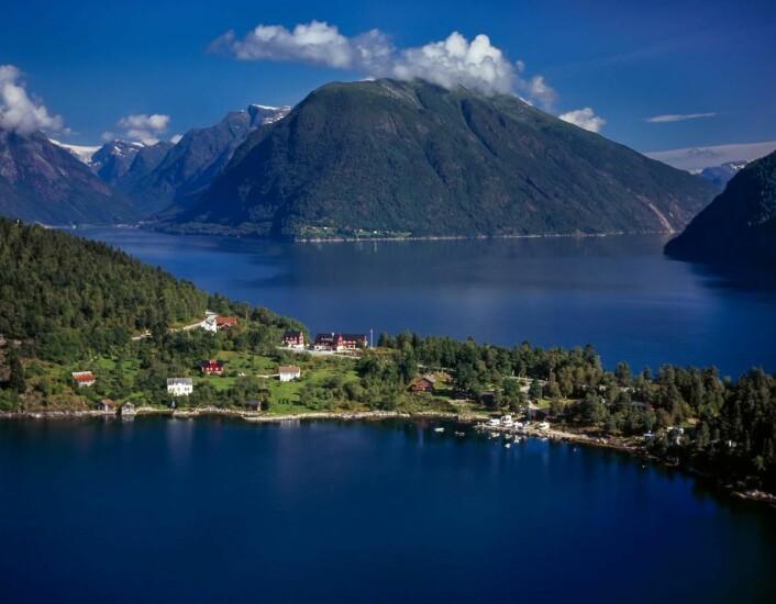 Dragsvik Fjordhotel. (Foto: Hotels.com)