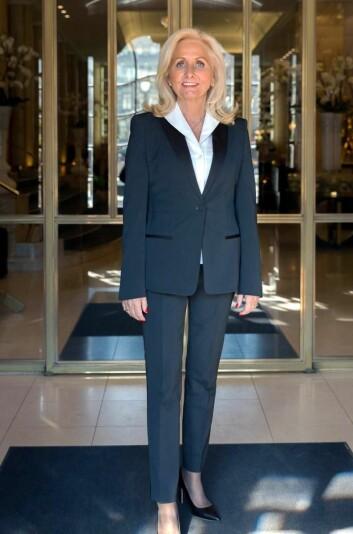 Hotelldirektør på Grand Hotel Oslo by Scandic, Toril Flåskjer. (Foto: Hege Finsrud)