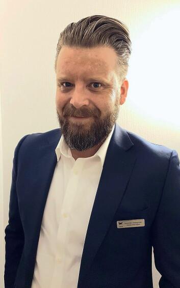 First Hotels' nye salgssjef, Karsten Møgster, (Foto: First Hotels)