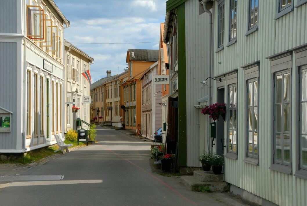 Fra Sjøgata i Mosjøen. (Foto: Colourbox.com)
