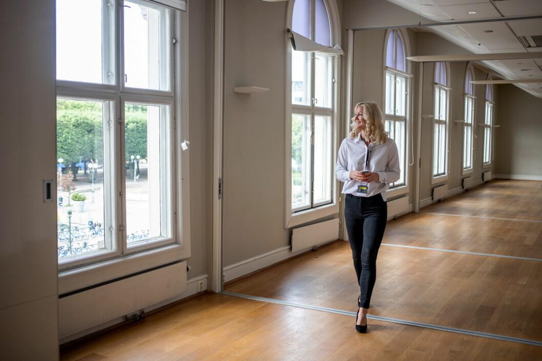 Hotelldirektør på Comfort Hotel Central Station i Oslo, Johanna Furenbäck, ser frem til å få 24 nye rom på hotellet. (Foto: Comfort Hotel)