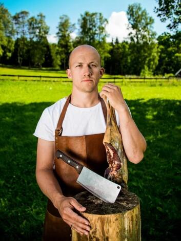 Kristoffer Evang fra Ask gård. (Foto: Ask gård)