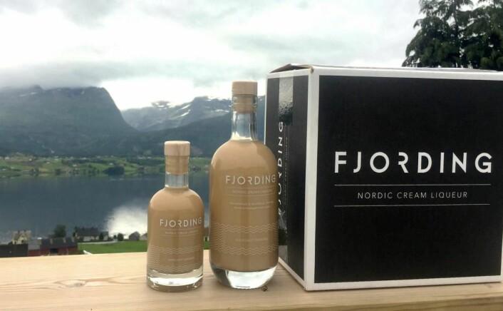 Fjording - i liten og stor flaske. (Foto: Fjording)