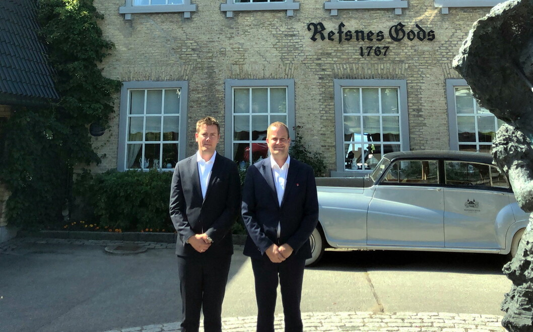Kim Nyheim er ansatt som ny hotelldirektør på Hotel Refsnes Gods. (Foto: Hotel Refsnes Gods)