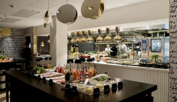 Frokost på Hotel Norge by Scandic. (Foto:Fransisco Munoz/Scandic Hotels)