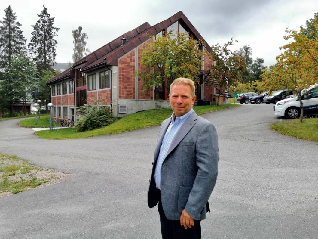 Kjell Arne Haakonsen står bak Fast Food Service. (Foto: Fast Food Service)