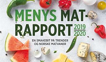 Ny rapport om trender og matvaner