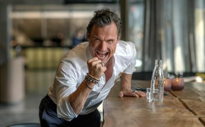 Petter A. Stordalen er i storform!. (Foto: Kzate Gabor)