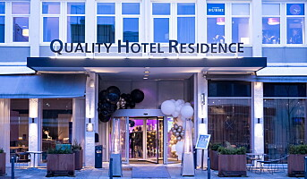 God sommer for Quality Hotel Residence